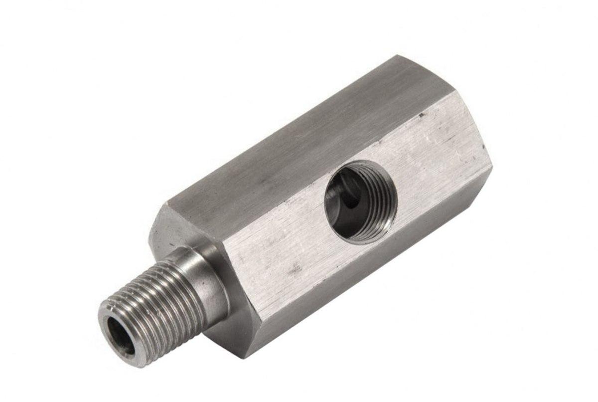 """Adapter czujnika ciśnienia oleju TurboWorks M10x1 na 1/8"""" NPT - GRUBYGARAGE - Sklep Tuningowy"""